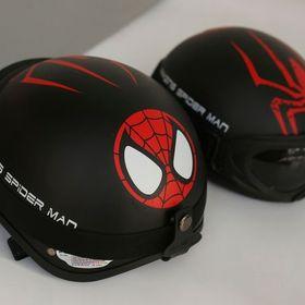 Mũ phượt spiderman - chuẩn cr giá sỉ