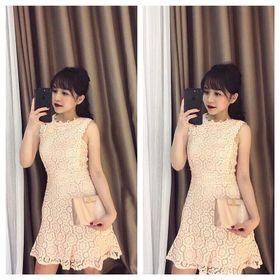 Đầm ren quảng châu giá sỉ