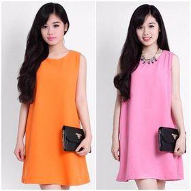 Đầm suông chữ a cực đẹp giá sỉ
