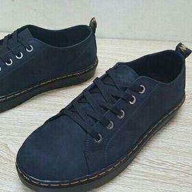 Giày dr119 da bò buck 3 màu nâu xanh rêu đen than giá sỉ