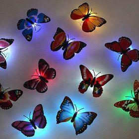 Đèn led dán tường hình bướm 3D giá sỉ