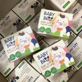 Khăn Lau Răng Hàn Quốc Baby Bro giá sỉ