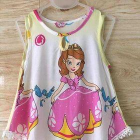 váy lanh cho bé gái giá sỉ