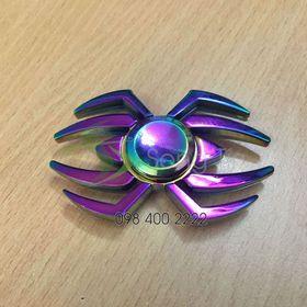 Con quay người nhện 7 màu - Rainbow Spiderman Spinner - Fidget Spinner giá sỉ
