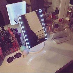 Gương đèn led để bàn 22 bóng giá sỉ