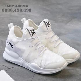 Giày sneaker nữ trơn cá tính LADY AROMA-ARBT73 giá sỉ