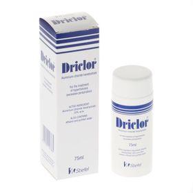 Driclor - Thuốc trị mồ hôi tay chân nách giá sỉ