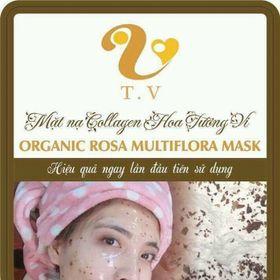 Collagen mask TV Beautiful hoa tường vi giá sỉ