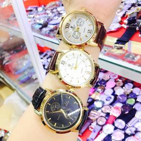 đồng hồ da may hàng đẹp 2 giá sỉ