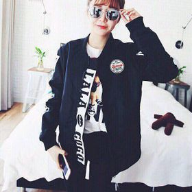 Áo khoác nữ thời trang kaki 2017 giá sỉ