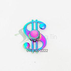 Con quay Đô-la 7 màu - Rainbow Dollar Symbol Spinner - Fidget Spinner giá sỉ