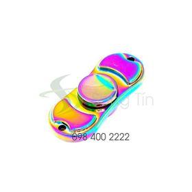 Con quay 2 cánh 7 màu - Rainbow Dual-wing Spinner - Fidget Spinner giá sỉ