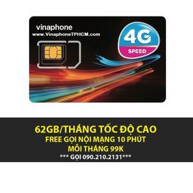 SIM 4G VINAPHONE VD89 60GB/THÁNG giá sỉ