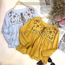 Áo babydoll thêu hoa giá sỉ