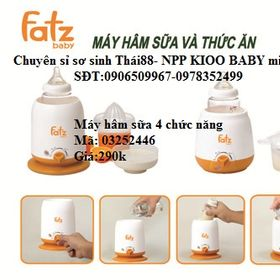 Máy hâm sữa Fatz 4 chức năng giá sỉ