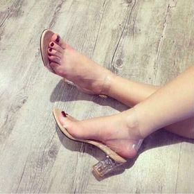 giày cao gót quai trong giá sỉ
