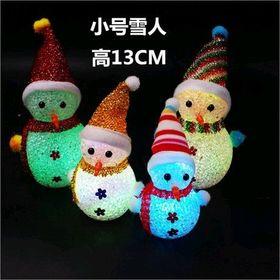 Snowman búp bê trang trí Noel led phát sáng giá sỉ