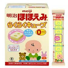 Sữa Meiji 0 dạng thanh Nhật 27gx24 giá sỉ
