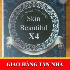 Xà hòng tắm trắng skin beautyful X4 giá sỉ