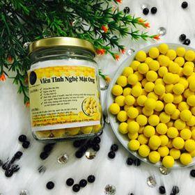 viên tinh nghệ mật ong handmade nguyên chất giá sỉ