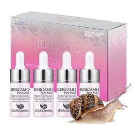 Serum Bergamo Pure Snail Brightening Dưỡng ẩm chuyên sâu Hàn Quốc giá sỉ