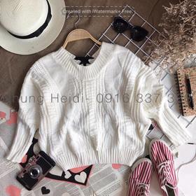 Áo len đan dây giá sỉ