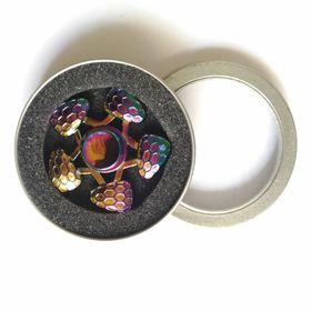 Con quay tổ ong 5 cánh 7 màu - Rainbow Hive Spinner - Fidget Spinner giá sỉ
