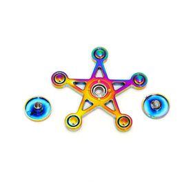 Con quay ngôi sao 7 màu - Rainbow Star Spinner - Fidget Spinner giá sỉ