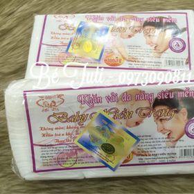 khăn vải khô đa năng Baby Hiền Trang giá sỉ