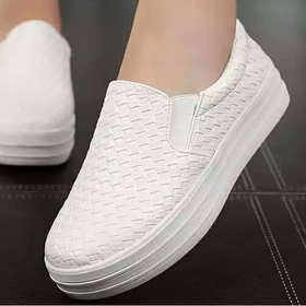 Giày lười nữ độn đế có thể tháo độn giá sỉ