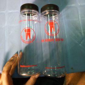 Bình Nước My Bottle In logo công ty 1 màu giá sỉ