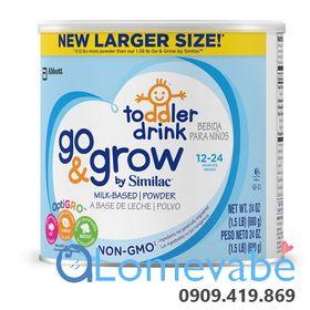SỮA SIMILAC GO GROW NON - GMO DÀNH CHO BÉ 12-24 THÁNG TUỔI HỘP 680G giá sỉ