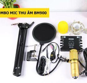 Mic Thu Âm Combo BM900 XoX K10 full phụ kiện giá sỉ