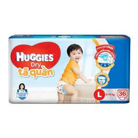 Tã quần Huggies L36 giá sỉ