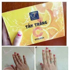 Tắm Trắng Vitamin C Tắm trắng Cam giá sỉ