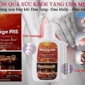 Dầu massage Iris giá sỉ