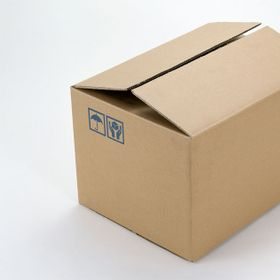 Thùng Carton 3 lớp mặt nâu đáy mọc 25x22x20cm giá sỉ