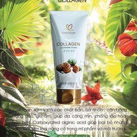 Kem rửa mặt Collagen made in Korea giá sỉ