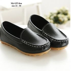 Giày dép trẻ em - Giày lười cho bé trai GT3 giá sỉ