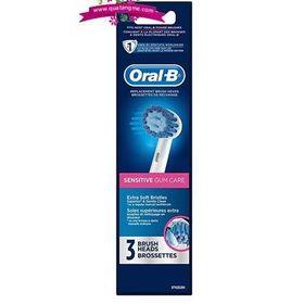 Oral-B Sensitive Gum Care Replacement Brush Heads - Bộ 2 đầu bàn chải điện Oral B giá sỉ