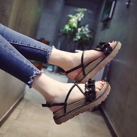 giày sandal hoa giá sỉ