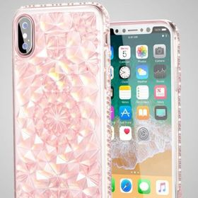 Ốp dẻo tinh thể kim cương 3D cho iphone giá sỉ