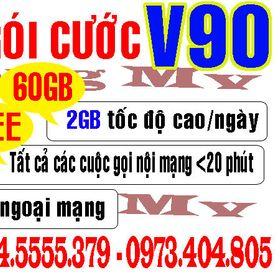 Sim Viettel V90 10 số giá sỉ