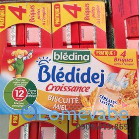 Sữa nước Bledina Phap 250mlx4 hộp 6m 9m 12m giá sỉ