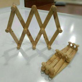 Móc áo gỗ 10 núm giá sỉ