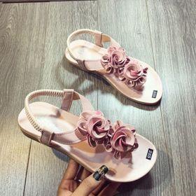 giày sandal hoa xinh giá sỉ