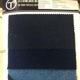 Vải Jean mã S0205H mầu chàm nặng 117OZ khổ 59 15m thành phần cotton 100 không xước số lượng khoảng 28000yds giá chỉ còn 188USD/yd giá sỉ