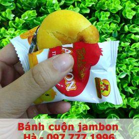 Bánh cuộn jambon thịt nướng Thanh Hương giá sỉ