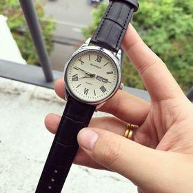 Đồng hồ dây da nam SANDA giá sỉ