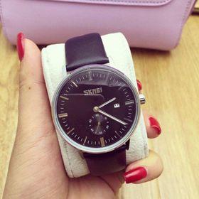 Đồng hồ dây da nam thời trang SKMEI giá sỉ